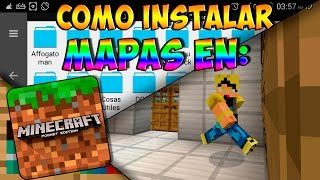 Minecraft PE 0.14.0 - Como Instalar Mapas En Minecraft (Pocket Edition) 0.14.0 l TUTORIAL