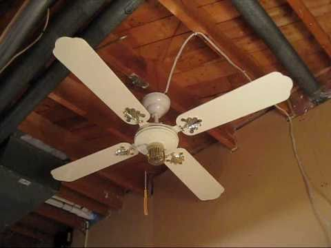 Early 1980s Smc Laguna 132 Cm 52 Ceiling Fan Youtube