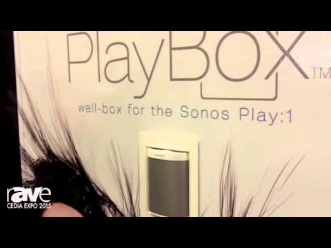 CEDIA 2015: thenos Debuts the PlayBox, an In-wall Enclose for The Sonos Play:1