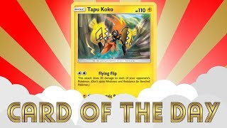 Pokemon Card of the Day - Tapu Koko Promo