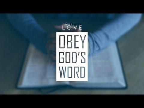 Grow in Love: Obey God's Word - Ricky Sarthou