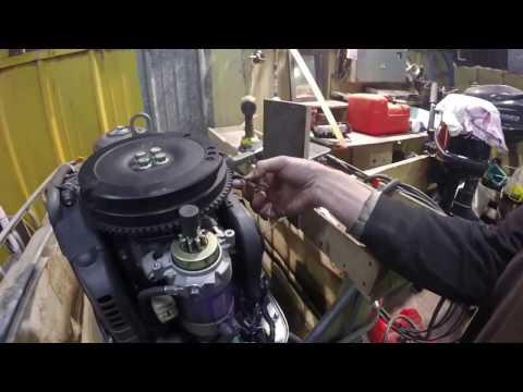 гидроудар лодочного двигателя