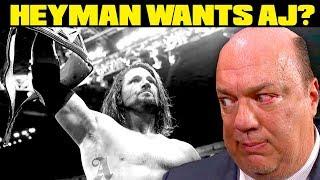 download lagu Paul Heyman Asked For Aj Styles? Going In Raw gratis
