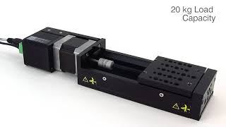 Zaber Technologies X LSQ Series Motorized Linear Stages with Built in Controllers