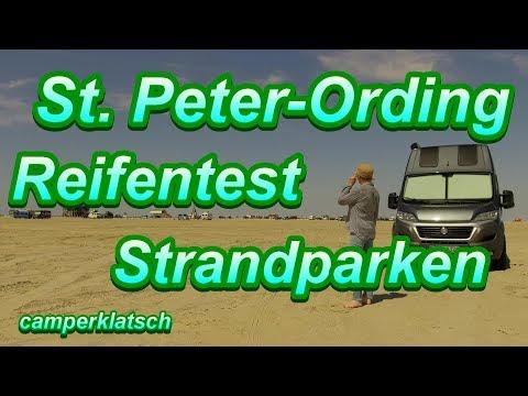 Strandparken mit dem Wohnmobil I Nordsee I Sankt Peter Ording Wohnmobil