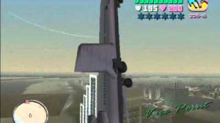 Avión en GTA vice city!!!