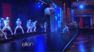 Michael Jackson ONE by Cirque du Soleil | Smooth Criminal | The Ellen DeGeneres Show | 14 3 14