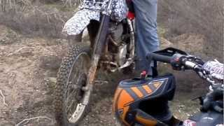 XR600 Crash