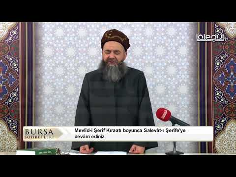 Cübbeli Ahmet Hoca Efendi Merhaba Kasidesi 2 Aralık 2017 / Bursa