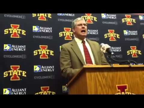 Cyclone football coach Paul Rhoads pleased with 2013 recruiting class