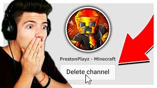 DELETING MY YOUTUBE CHANNEL IF I LOSE...