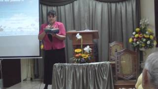 vivo por Cristo interpreta hna Rebeca Lopez