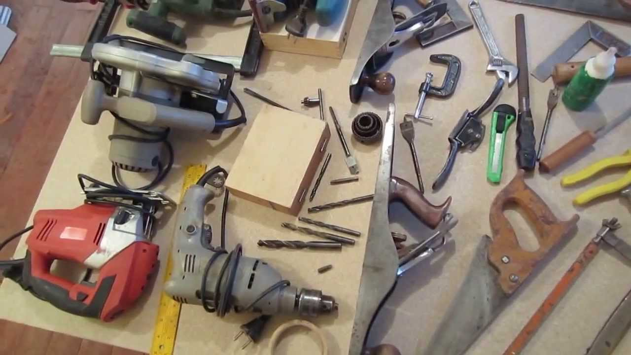 Herramientas de carpinteria en madera youtube - Herramientas de madera ...