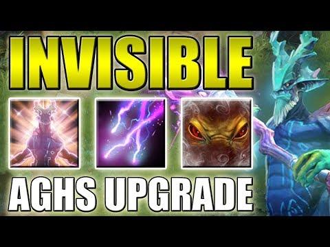 Invisible Leshrac Ulti Abuse [Double Aghanim's Upgrade] Dota 2 Ability Draft