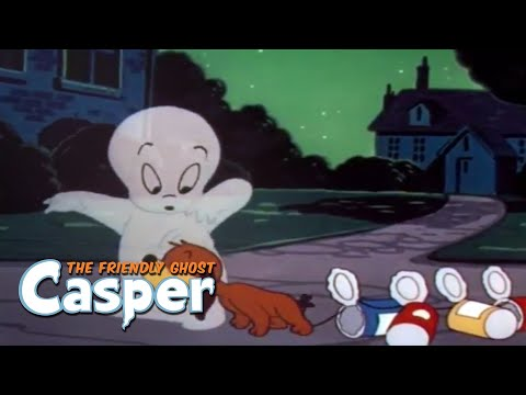 Casper Classics | Casper Takes a Bow-Wow/Spooking About Africa | Casper the Ghost Full Episode
