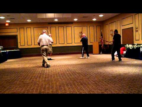 Bushi No Te 2010 - Ron Holloway iaijutsu/kenjutsu techniques (Demo #3) Image 1