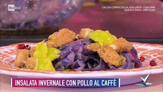 Cesare Marretti - Insalata invernale con pollo al caffè - Detto Fatto 14/01/2021