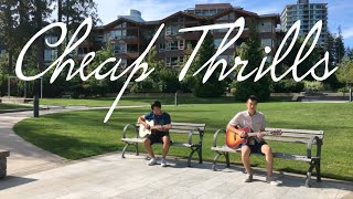 Cheap Thrills - Sia ~ Two Guitar Duet (Fingerstyle Guitar Cover) in 4K