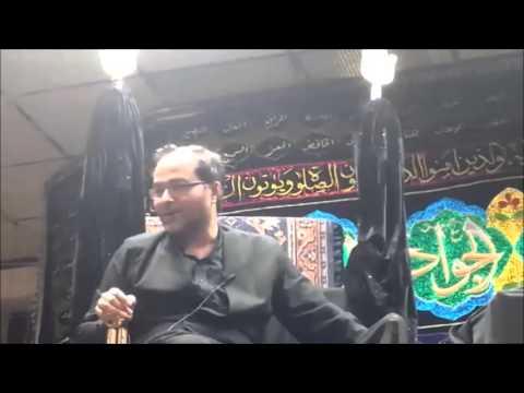 Maulana Qambar Ali Rizvi 1st Safar Birmingham (UK)