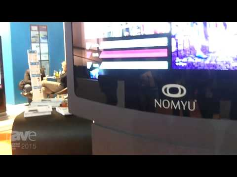 ISE 2015: Nomyu Describes the New 55″ Completely Full Auto Kiosk