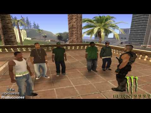 GTA San Andreas LOQUENDO | Herny9997 y sus amigos se van a despedirse...