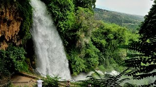 Waterfalls of Edessa in Greece
