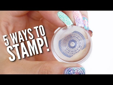 5 Different Ways To Use A Nail Stamper!