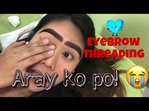 EYEBROW THREADING at Lay Bare Tagalog   Philippines