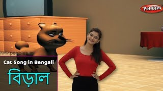 Cat Song in Bengali | Bengali Rhymes For Kids | Baby Rhymes Bengali | Bangla Children Songs