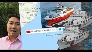 Hải Dương 8 áp sát Phan Thiết – Hạm Quang Trung lui về Cam Ranh