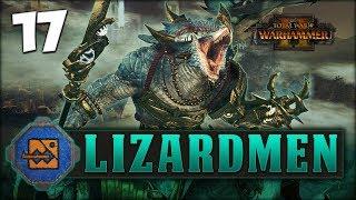 DINO RAMPAGE ASSAULT Total War Warhammer 2  Lizard