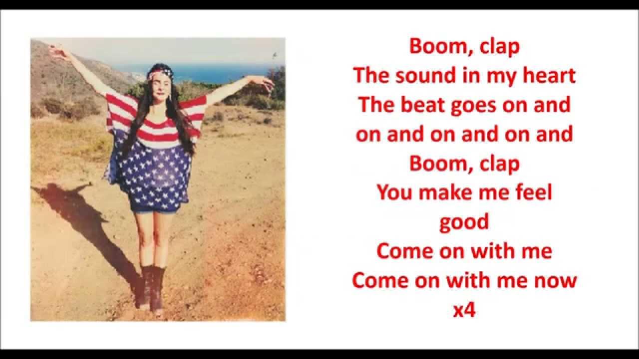 Boom clap quot cover by cimorelli lyrics youtube