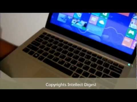 Sony VAIO T13 Ultrabook Review- Windows 8 Touch Screen