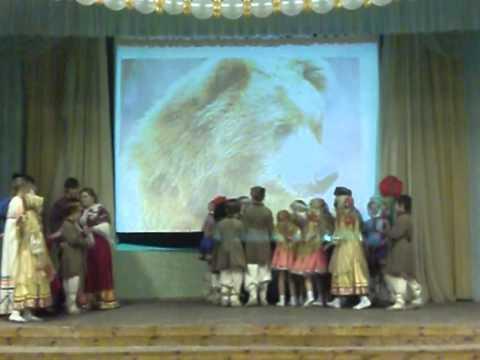 Видео клип ансамбля танца «Россияне» — Танец «Коляда» / 2010