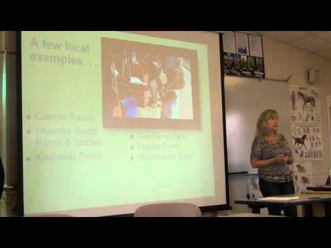 August 2012 Ag tourism - Stephanie Larson