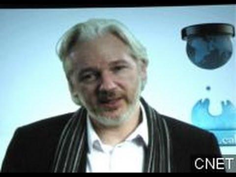 Julian Assange Talks Surveillance, Leaks At SXSW