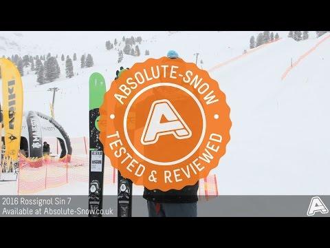 2015 / 2016   Rossignol Sin 7 Ski   Video Review