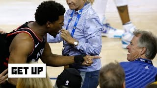 The fan who shoved Kyle Lowry should be banned for life – Richard Jefferson | Get Up