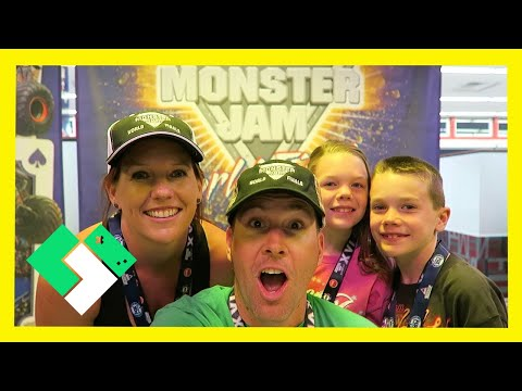Pit Party At Monster Jam World Finals (3.26.15 - Day 1091) video