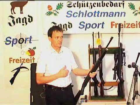 Luftgewehr Dominator und CO2 Gewehr 850 AirMagnum Präsention