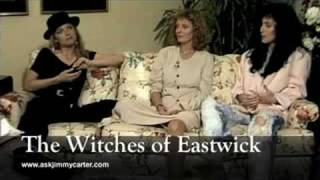 Cher - The Witches of Eastwick interview with Jimmy Carter (1987)