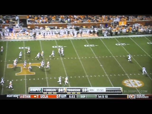 Top 15 Oregon Ducks Touchdowns of 2010-11
