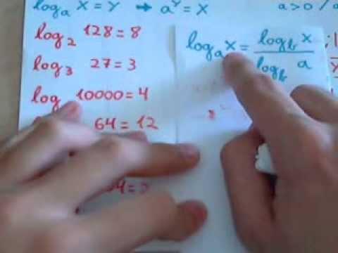 Comprobación Del Resultado De Logaritmos