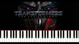 Transformers: The Last Knight - New International Trailer Song (Piano Tutorial)