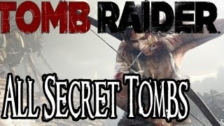 Tomb Raider (2013) - How to Find and Solve All Secret Tombs (XBOX 360/PS3/PC)
