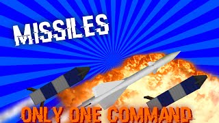 Missiles with only one command | Blow up your world!