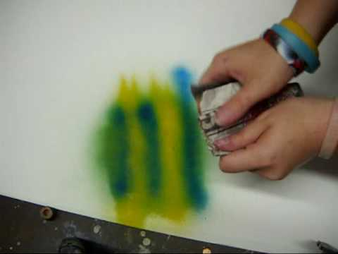 Spray Paint Art How To 1 Basic Planets Youtube