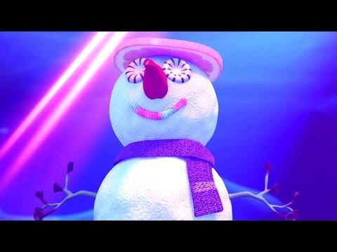Прикольный мультик «Овощная вечеринка» - Снеговик (29 серия)