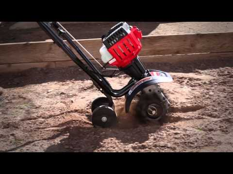 The TB225 gas cultivator   How to set up your 2-cycle cultivator