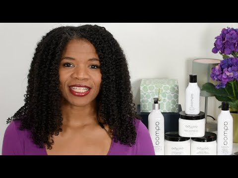 Wash and Go Natural Hair Tutorial Adwoa Beauty Product Review